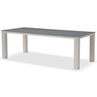 32604 mar square set 220 100 glas 6stoelen forte straight wit kaki 3